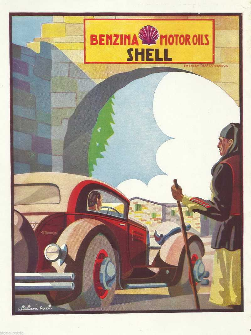 Automobili, Motori, Carburante Shell, Bella Pubblicitaria, William Rossi, Ponci, Bpd anteprima